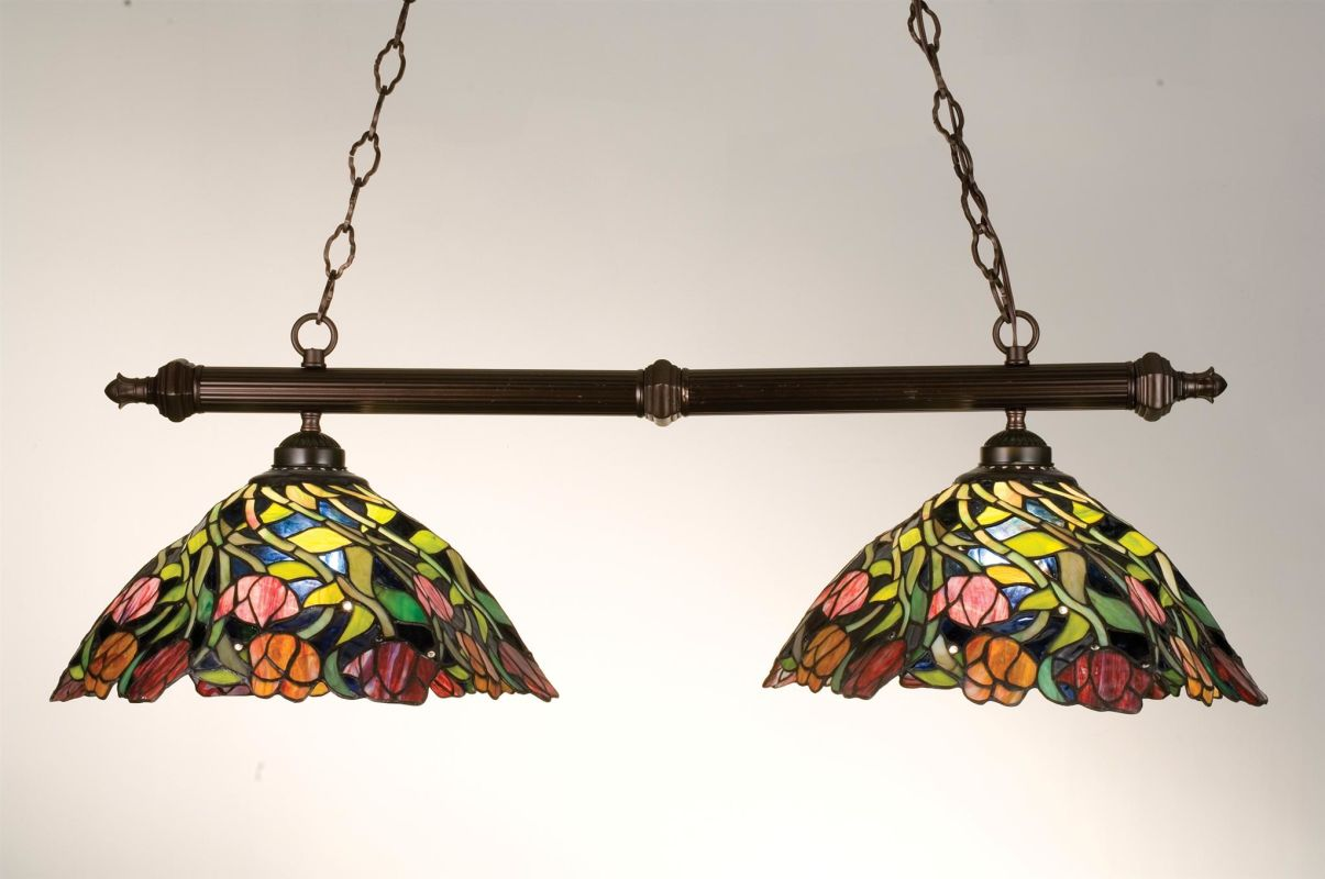 Meyda Tiffany 18818 Stained Glass / Tiffany Island / Billiard Fixture