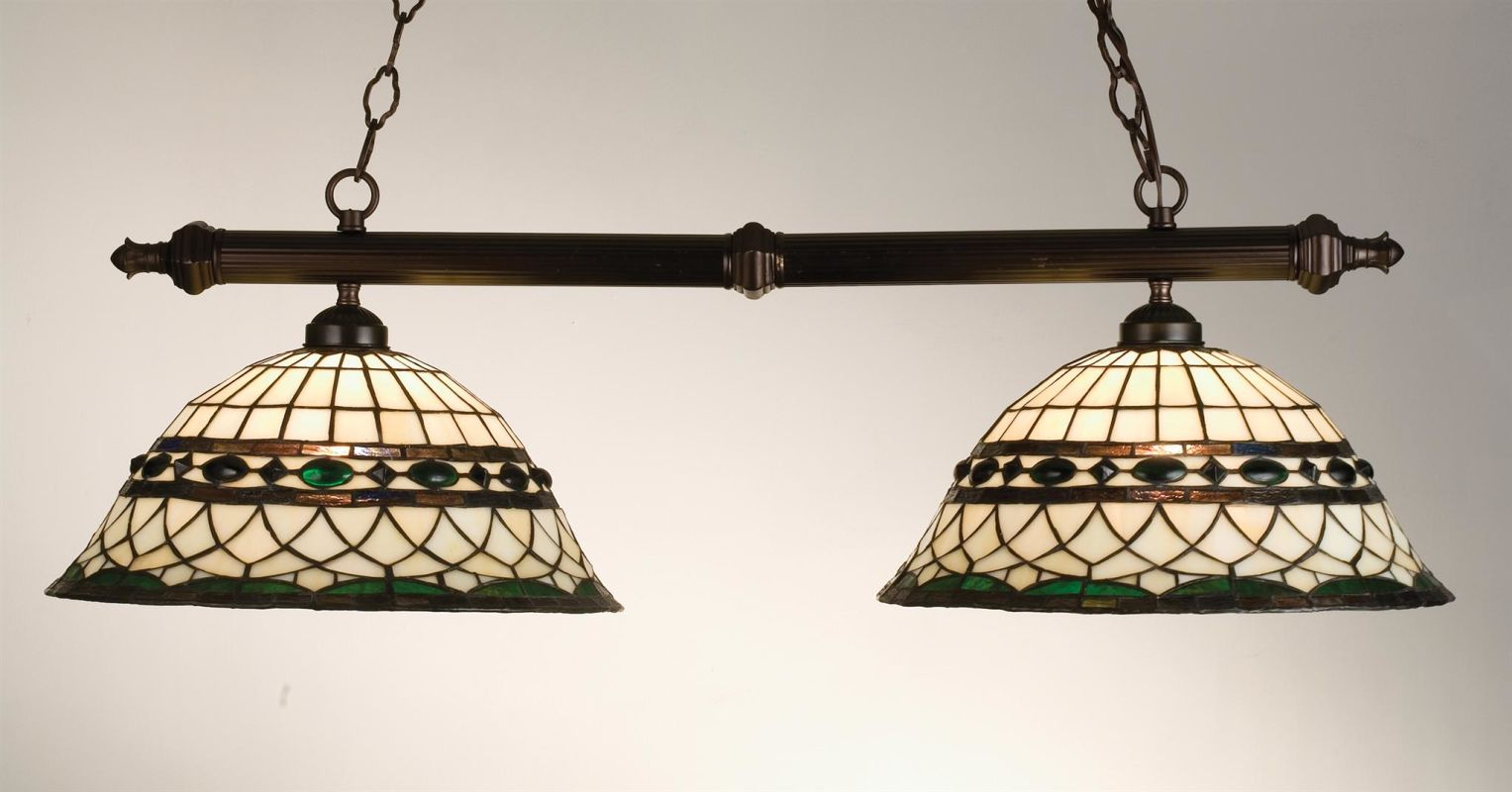 Meyda Tiffany 18840 Stained Glass / Tiffany Island / Billiard Fixture Sale $691.20 ITEM: bci249192 ID#:18840 UPC: 705696188406 :