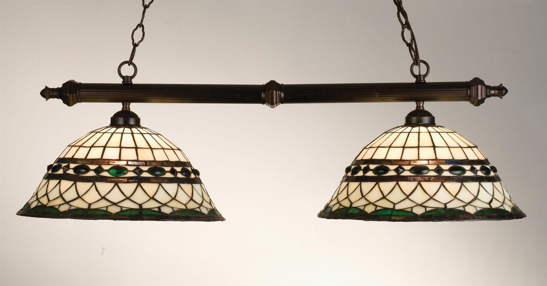 Meyda Tiffany 18840 Stained Glass / Tiffany Island / Billiard Fixture