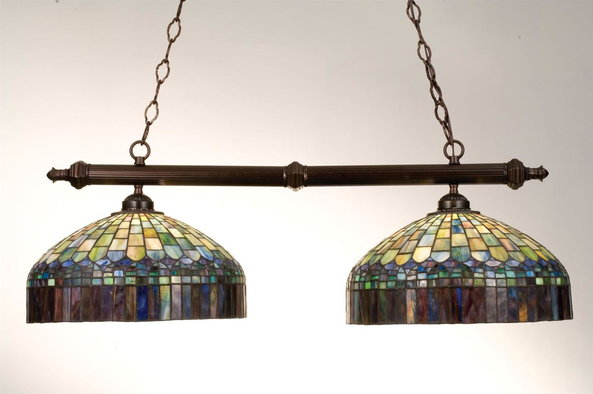Meyda Tiffany 18841 Stained Glass / Tiffany Island / Billiard Fixture Sale $673.20 ITEM: bci249193 ID#:18841 UPC: 705696188413 :