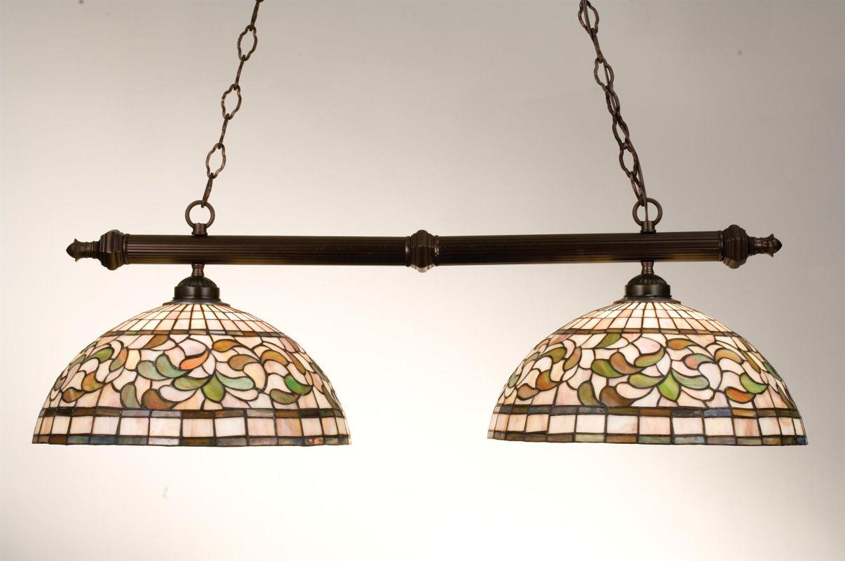 Meyda Tiffany 18842 Stained Glass / Tiffany Island / Billiard Fixture Sale $504.00 ITEM: bci249194 ID#:18842 UPC: 705696188420 :