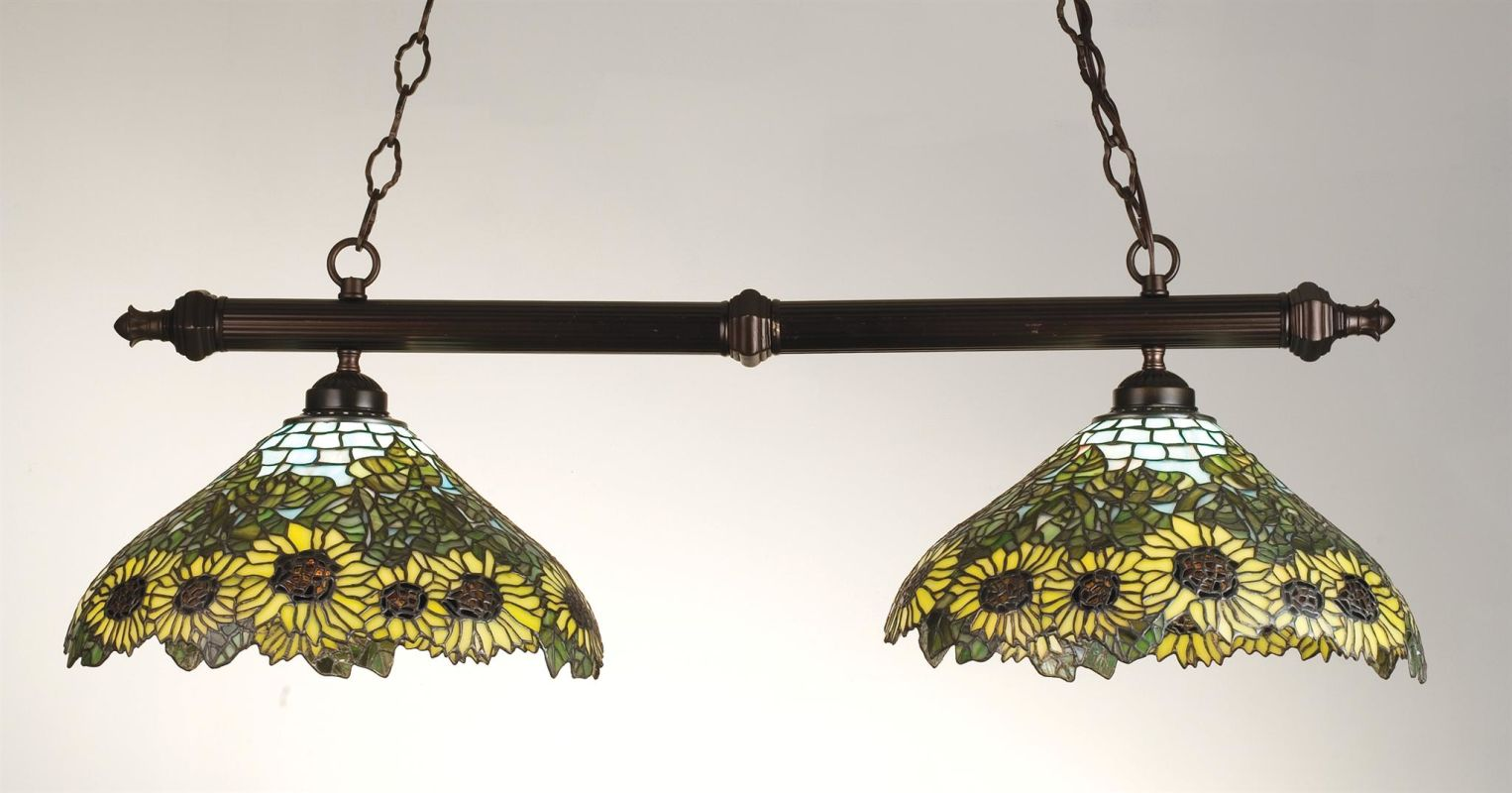 Meyda Tiffany 18845 Stained Glass / Tiffany Island / Billiard Fixture Sale $900.00 ITEM: bci249198 ID#:18845 UPC: 705696188451 :