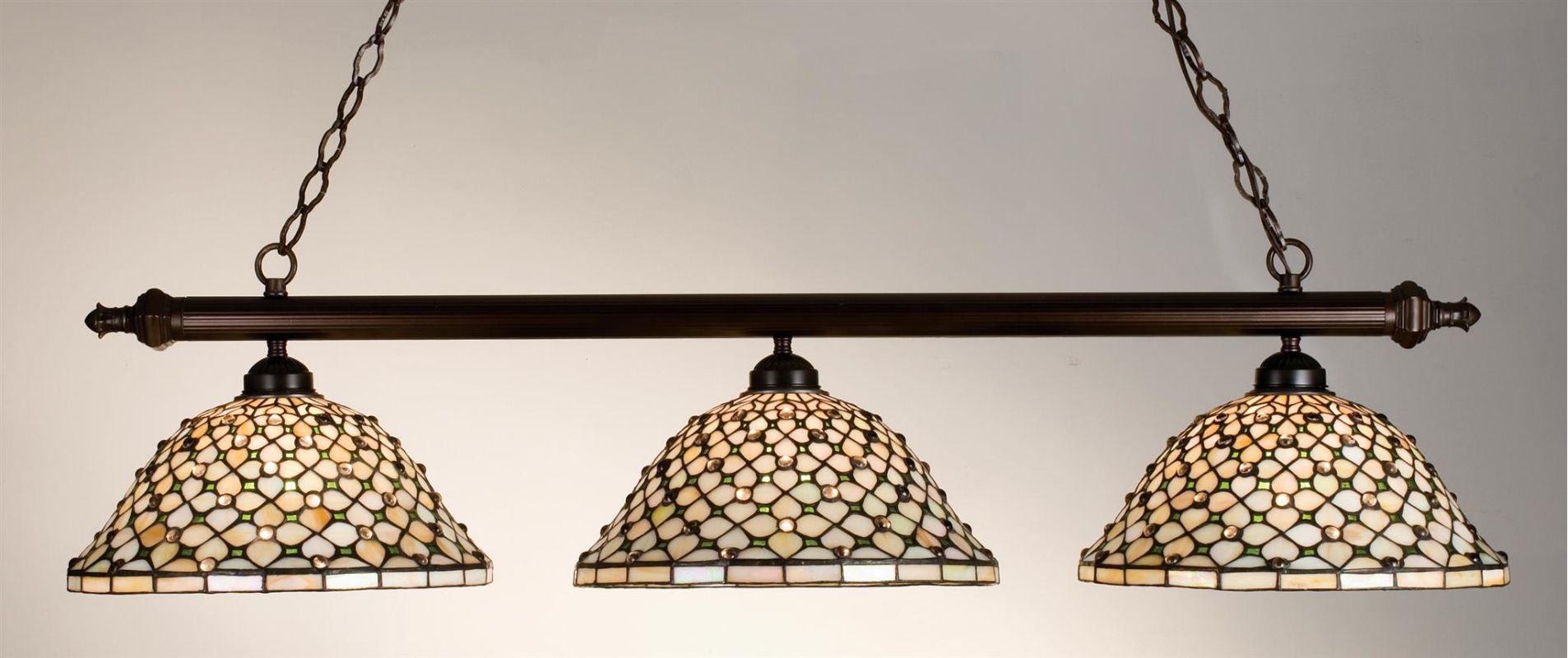 Meyda Tiffany 18848 Stained Glass / Tiffany Island / Billiard Fixture