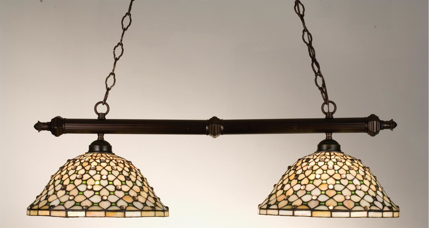 Meyda Tiffany 18850 Stained Glass / Tiffany Island / Billiard Fixture Sale $633.60 ITEM: bci249202 ID#:18850 UPC: 705696188505 :
