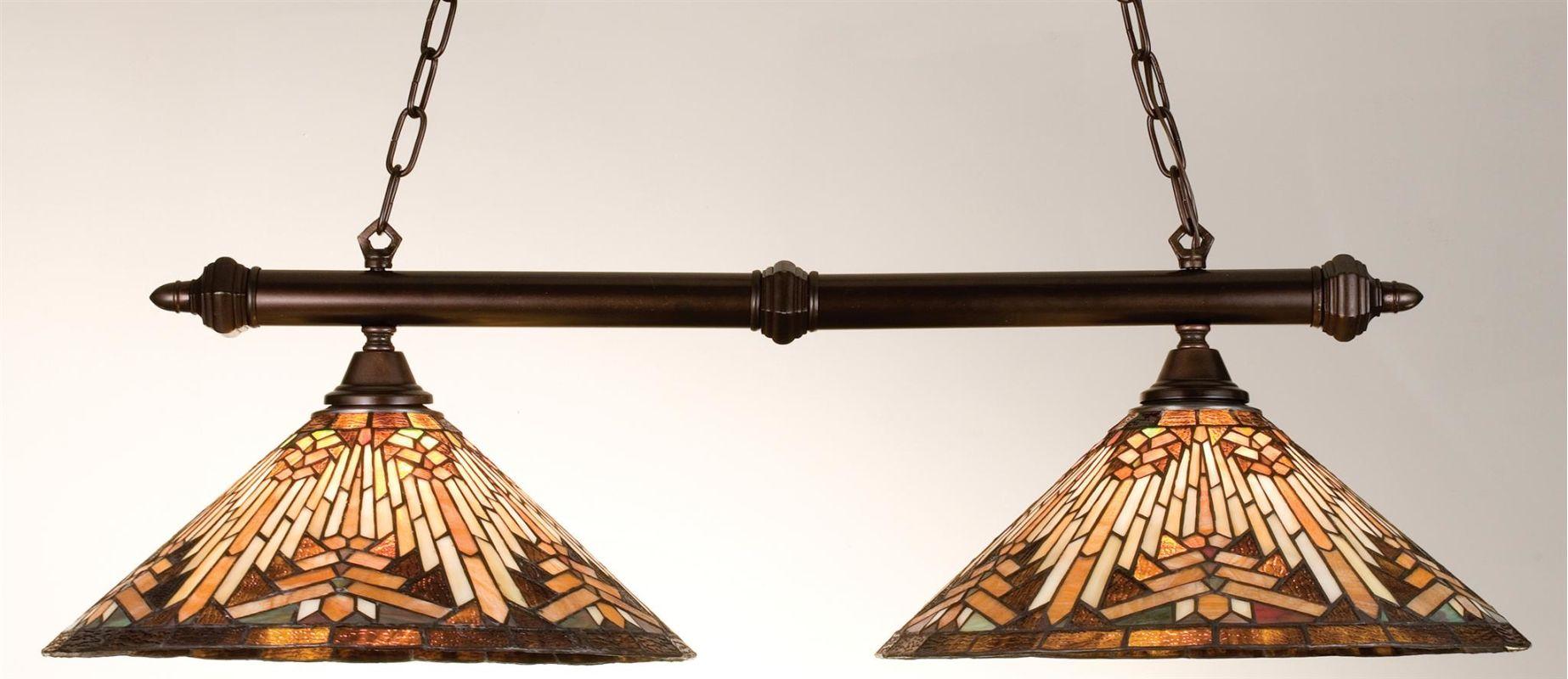 Meyda Tiffany 18858 Stained Glass / Tiffany Island / Billiard Fixture