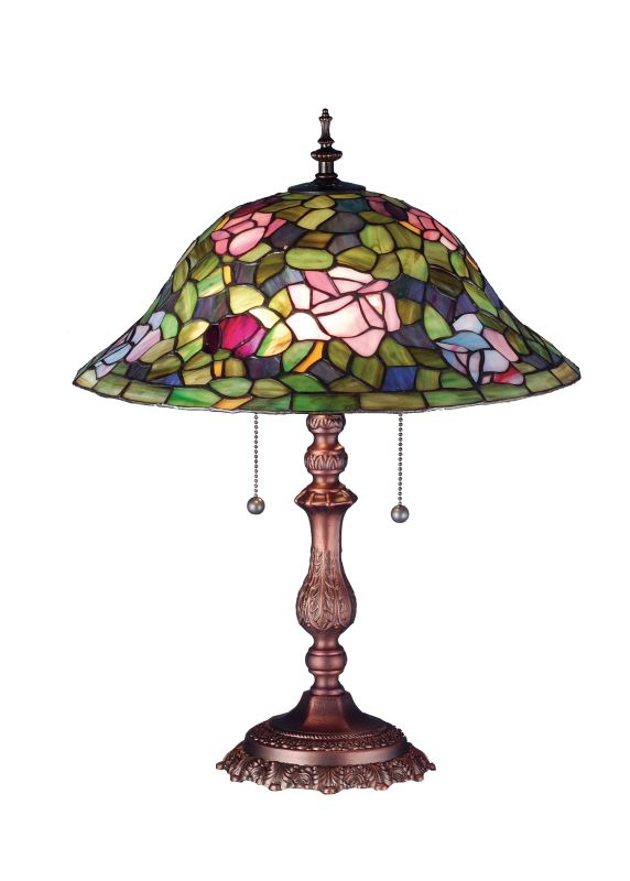 Meyda Tiffany 19769 Tiffany Two Light Up Lighting Table Lamp from the