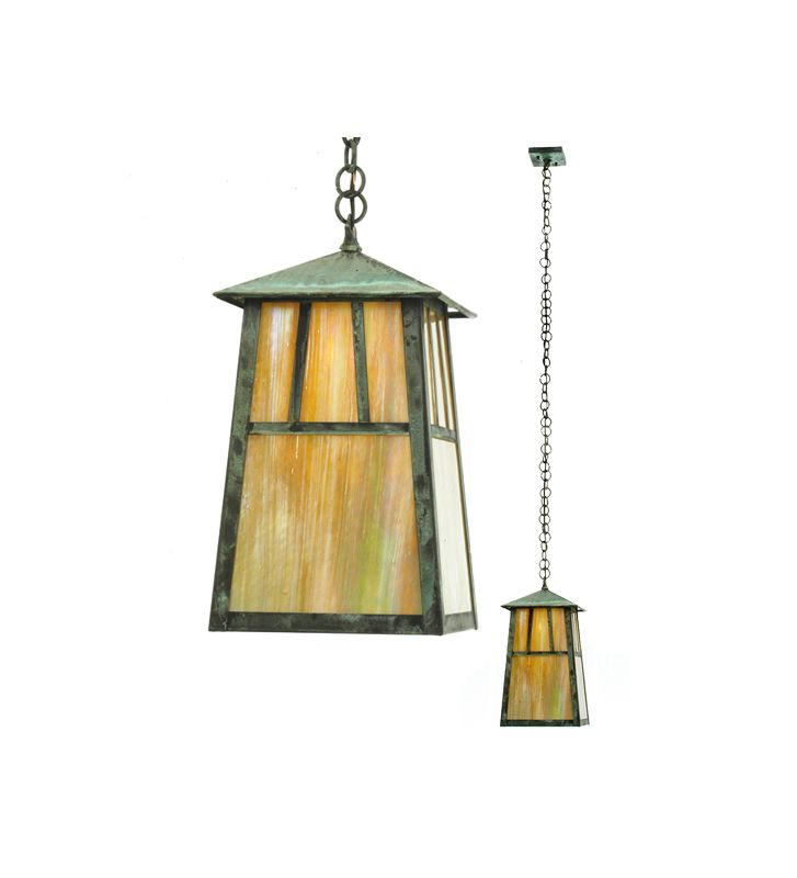 Meyda Tiffany 20111 Craftsman / Mission Single Light Down Lighting