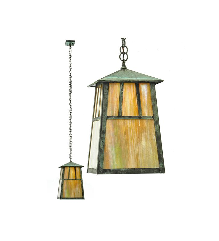 Meyda Tiffany 20114 Craftsman / Mission Single Light Down Lighting