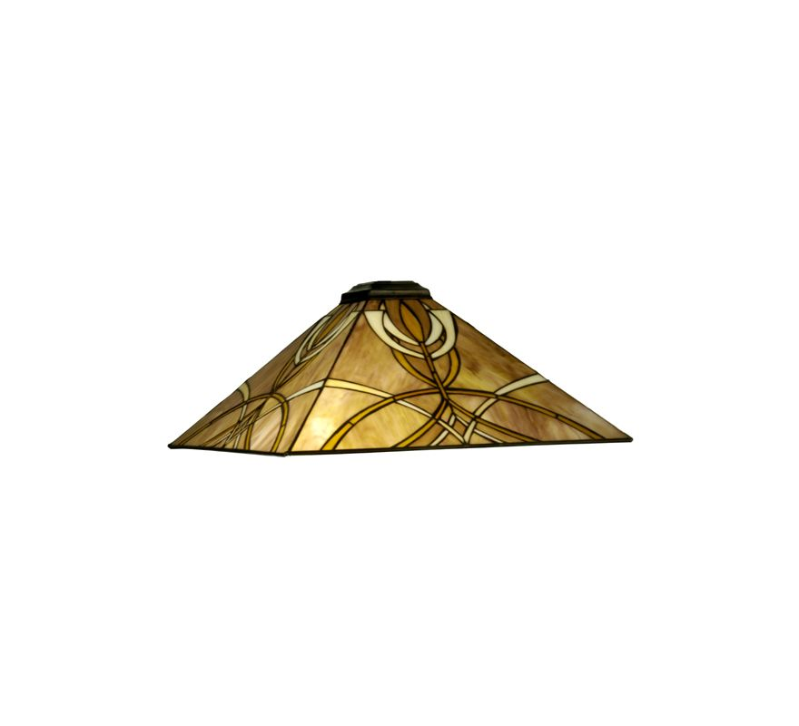 Meyda Tiffany 20124 Single Shade Accessory from the Glasgow Collection