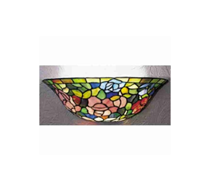 Wall Sconces Stained Glass : Meyda Tiffany 21124 Tiffany Glass Stained Glass / Tiffany Wall Washers Wall Sconce from the ...