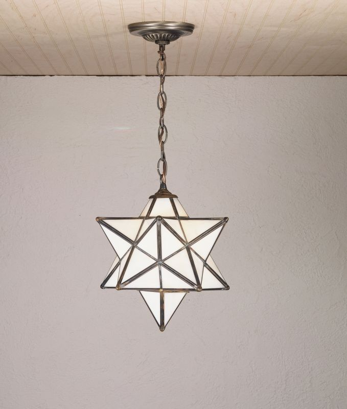 Meyda Tiffany 21841 Down Lighting Pendant from the Moravian Stars