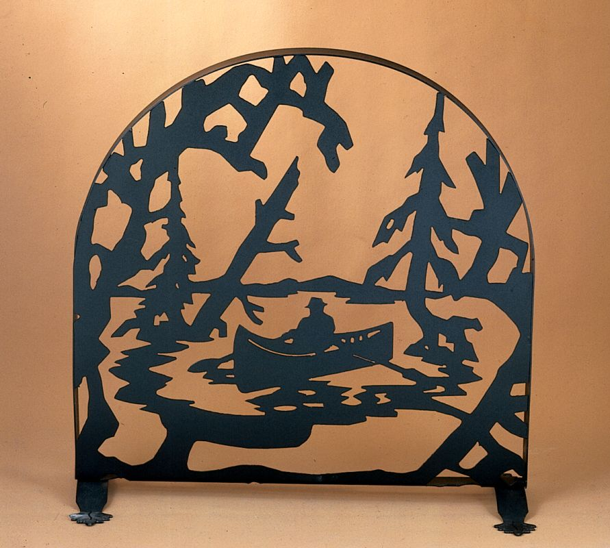 Meyda Tiffany 22387 Fireplace Screen from the Old Forge Firescreen
