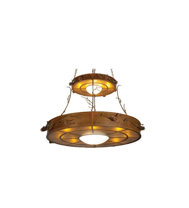 Meyda Tiffany 23812 Sixteen Light Down Lighting Two Tier Chandelier Sale $13915.00 ITEM: bci876547 ID#:23812 UPC: 705696238125 :