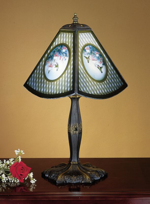 Meyda Tiffany 25988 Stained Glass / Tiffany Accent Table Lamp from the
