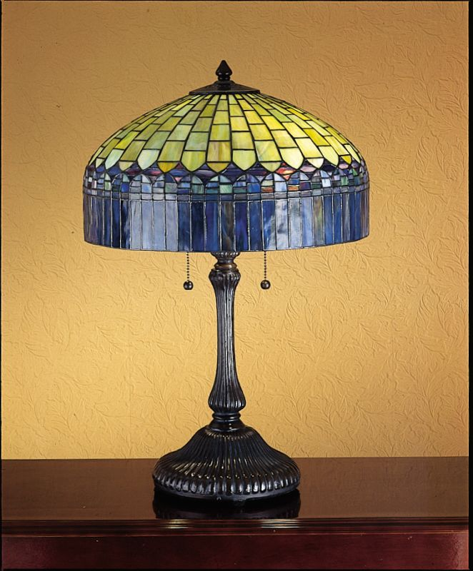 Meyda Tiffany 26322 Stained Glass / Tiffany Table Lamp from the