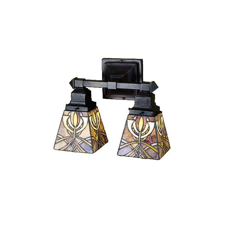 Tiffany Bathroom Lighting: Meyda Tiffany 26483 Tiffany Glass Stained Glass / Tiffany