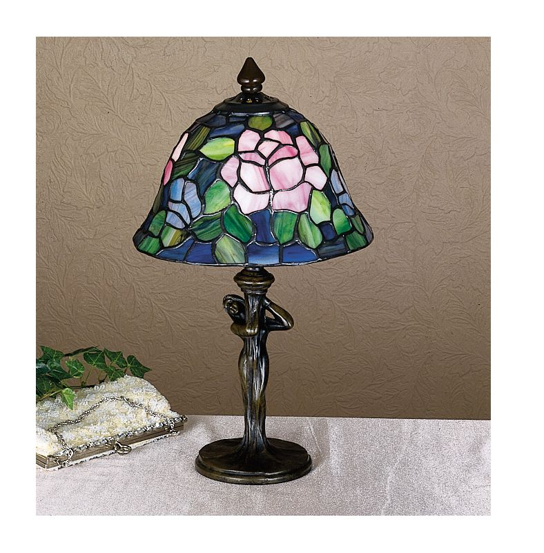 Meyda Tiffany 26488 Stained Glass / Tiffany Accent Table Lamp from the