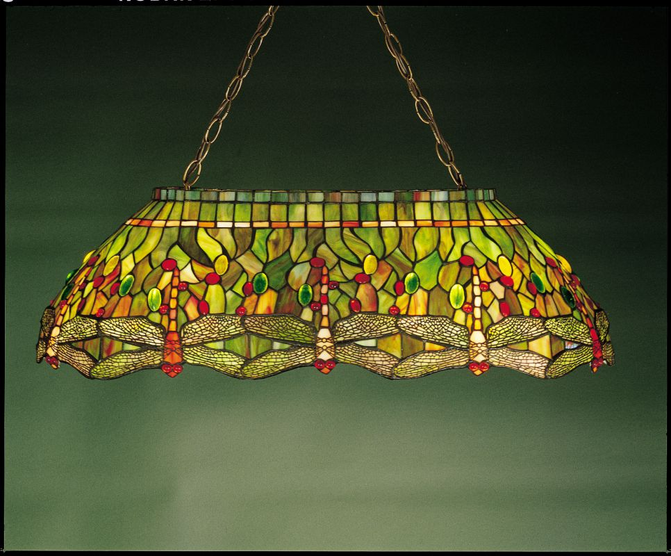 Meyda Tiffany 26547 Stained Glass / Tiffany Island / Billiard Fixture