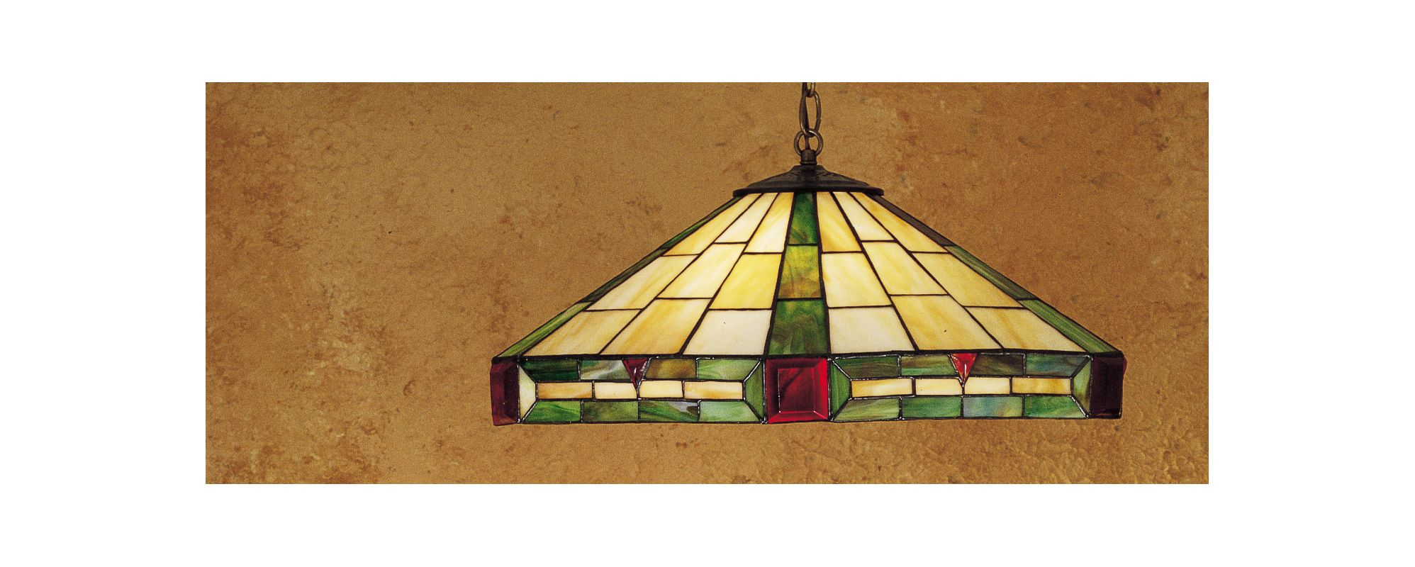 Meyda Tiffany 26556 Tiffany Three Light Down Lighting Pendant Tiffany
