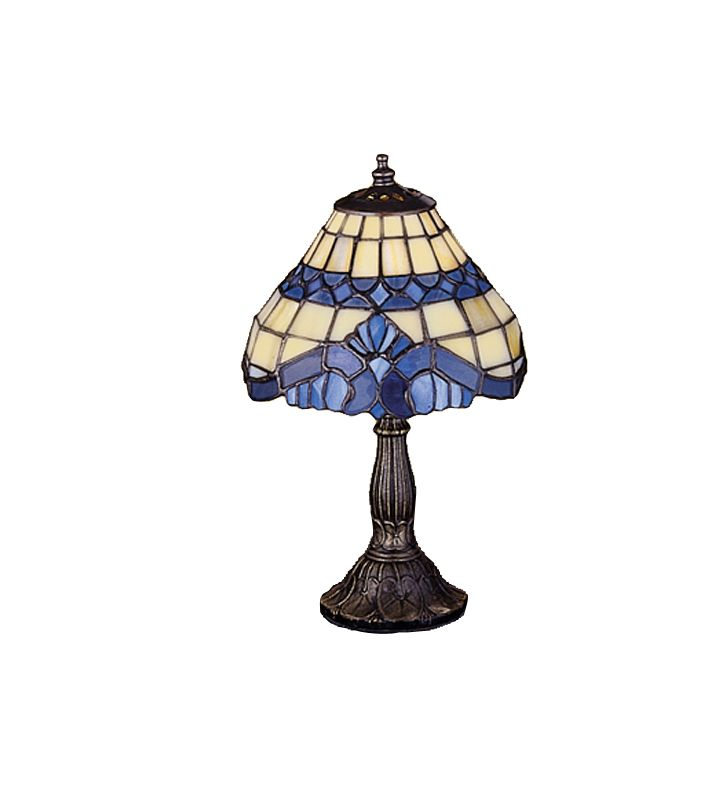 Meyda Tiffany 26586 Tiffany Single Light Accent Table Lamp Tiffany