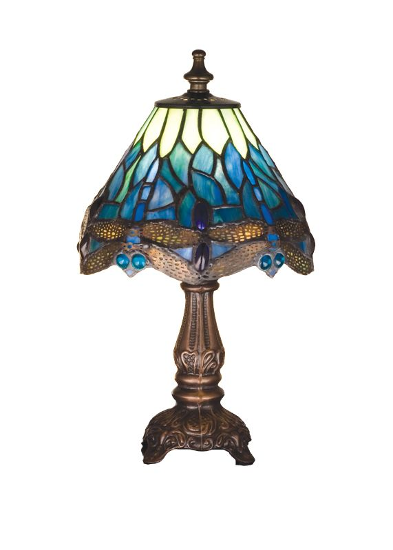 Meyda Tiffany 26597 Tiffany Single Light Accent Table Lamp Tiffany