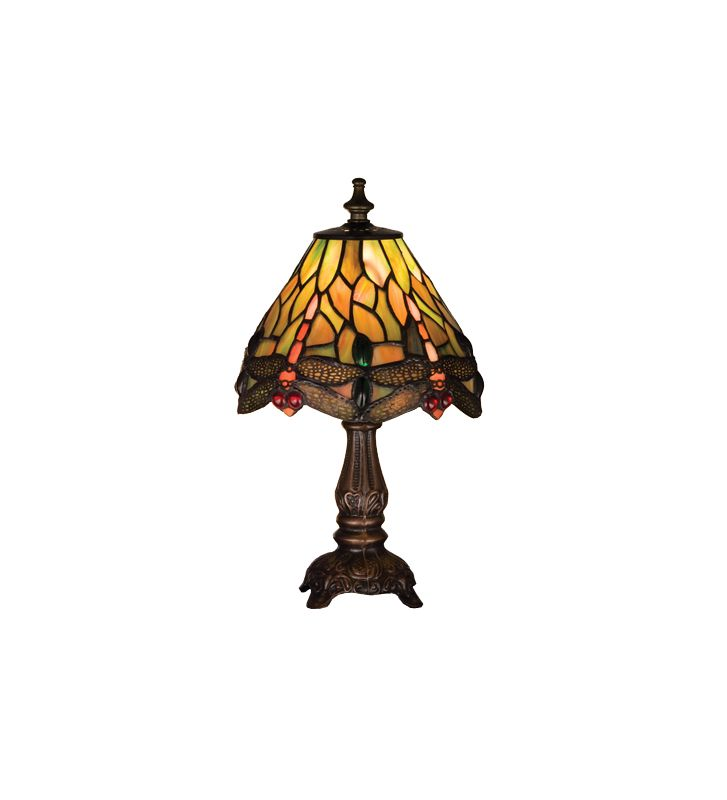 Meyda Tiffany 26613 Stained Glass / Tiffany Accent Table Lamp from the
