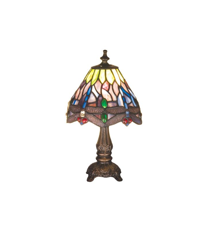 Meyda Tiffany 26615 Stained Glass / Tiffany Accent Table Lamp from the