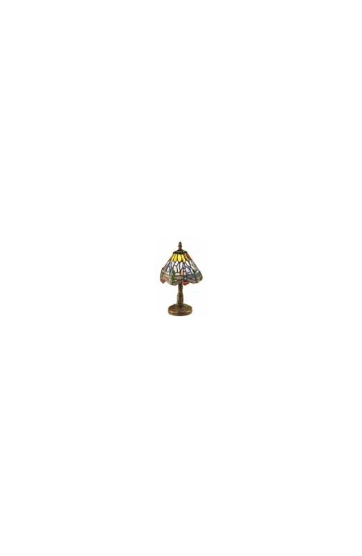 Meyda Tiffany 26616 Stained Glass / Tiffany Accent Table Lamp from the
