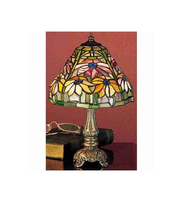 Meyda Tiffany 26633 Stained Glass / Tiffany Accent Table Lamp from the