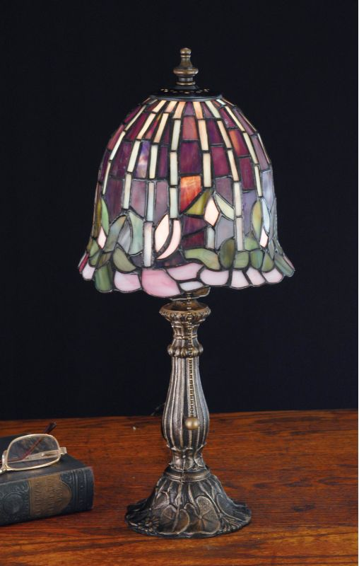 Meyda Tiffany 26647 Stained Glass / Tiffany Accent Table Lamp from the
