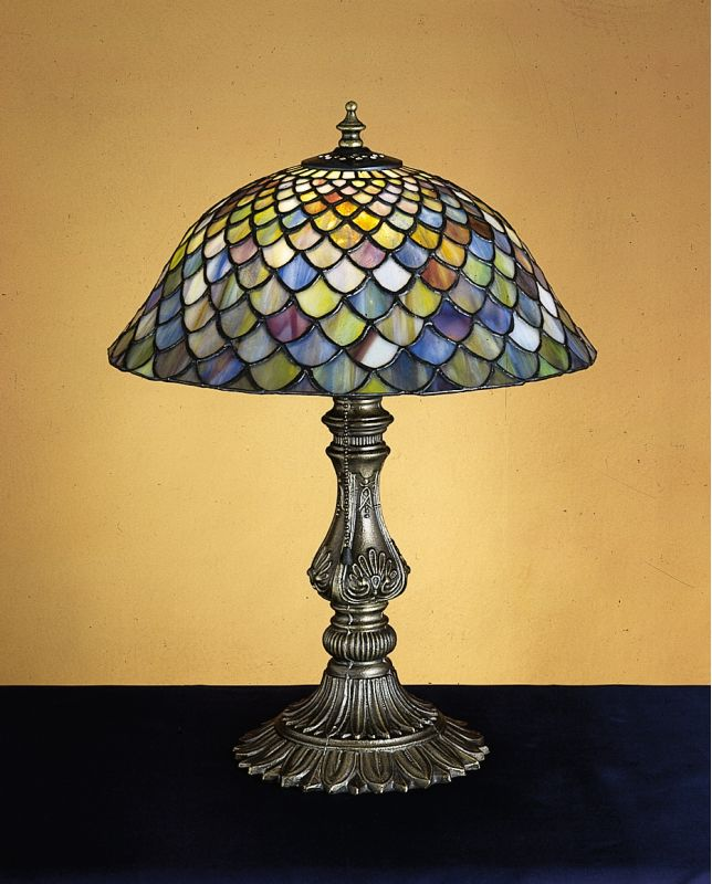 Meyda Tiffany 26673 Stained Glass / Tiffany Accent Table Lamp from the