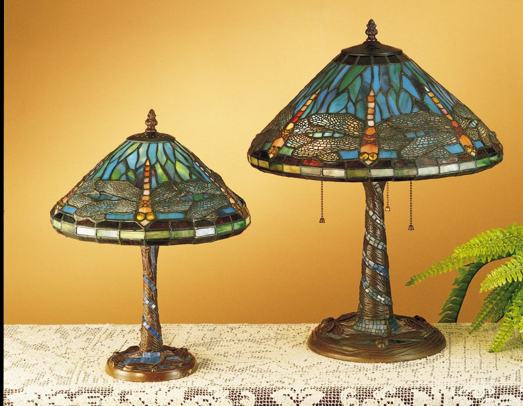 Meyda Tiffany 26683 Stained Glass / Tiffany Accent Table Lamp from the