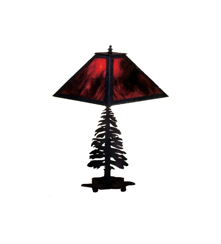 Meyda Tiffany 26724 Table Lamp from the Pine Tree Collection Black / Sale $374.00 ITEM: bci253810 ID#:26724 UPC: 705696267248 :