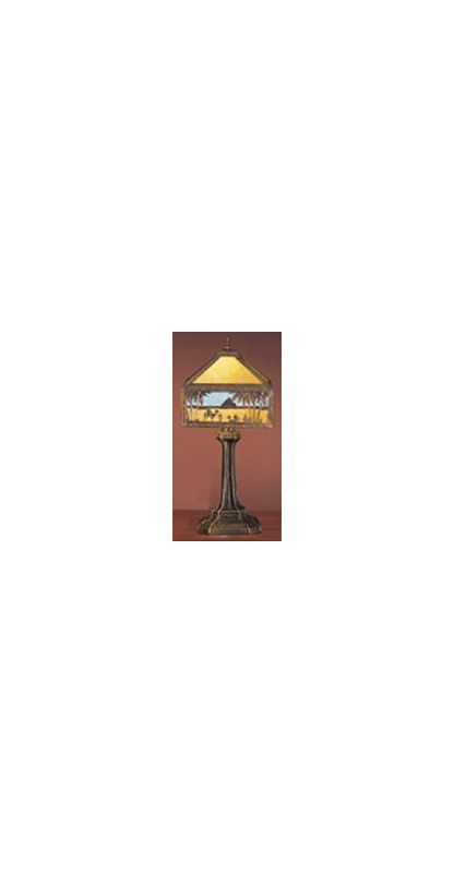 Meyda Tiffany 26839 Accent Table Lamp from the Camel Caravan