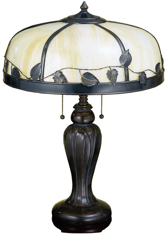 Meyda Tiffany 26904 Table Lamp from the Deco Delights Collection