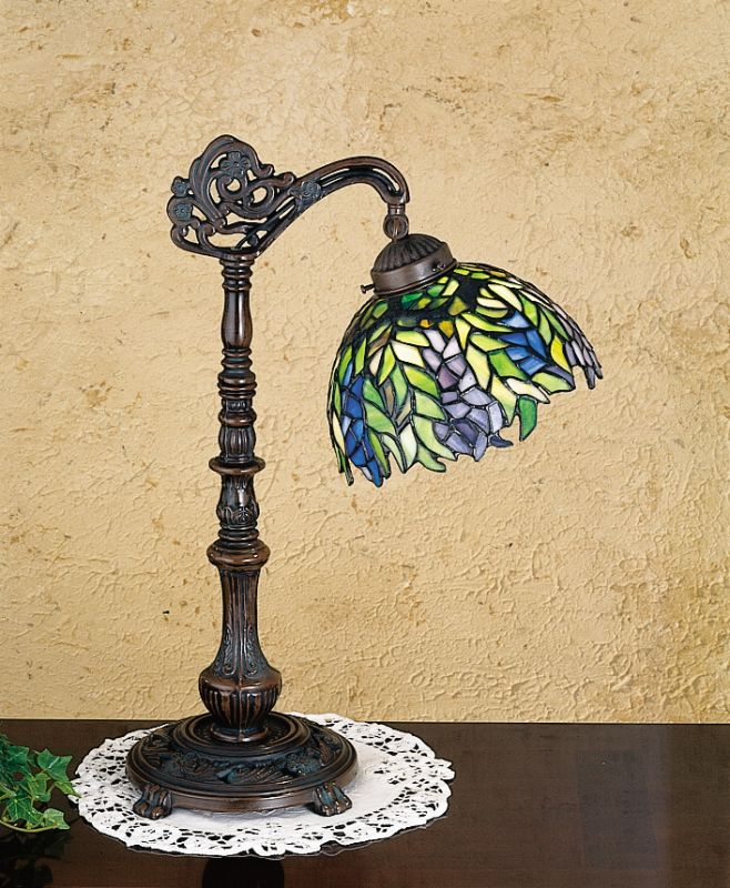 Meyda Tiffany 27167 Stained Glass / Tiffany Accent Table Lamp from the
