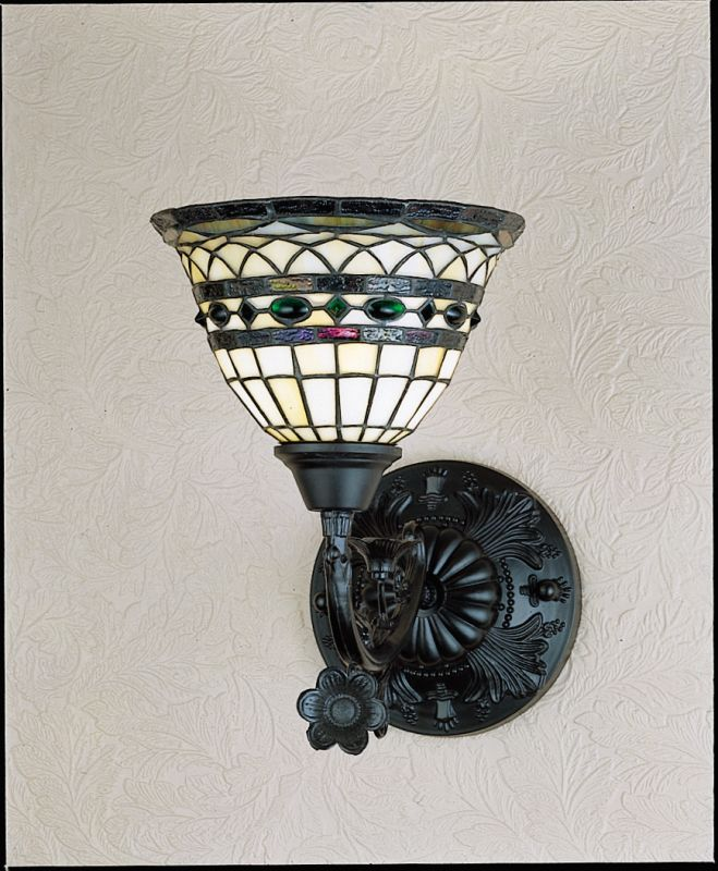 "Meyda Tiffany 27390 Tiffany Roman 14"" Wide Single Light Wall Sconce"