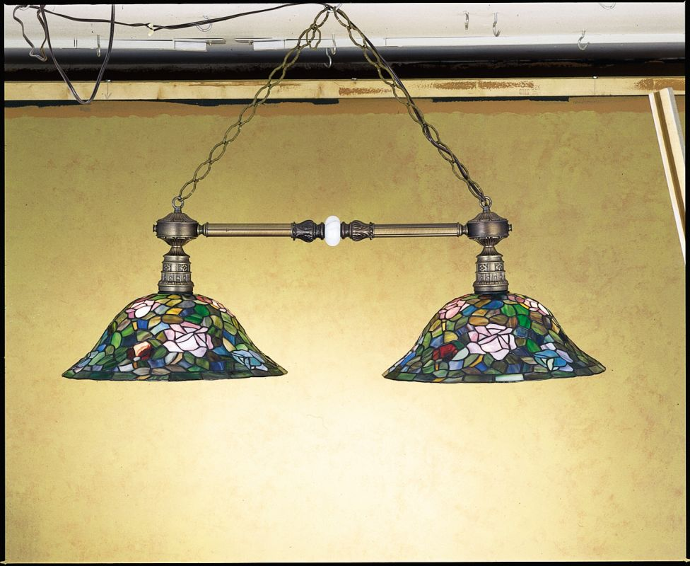 Meyda Tiffany 27409 Stained Glass / Tiffany Island / Billiard Fixture