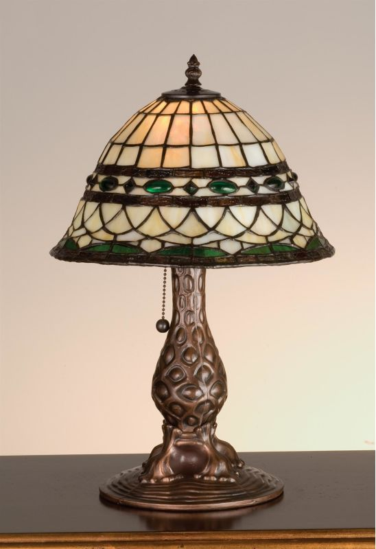 Meyda Tiffany 27539 Stained Glass / Tiffany Accent Table Lamp from the