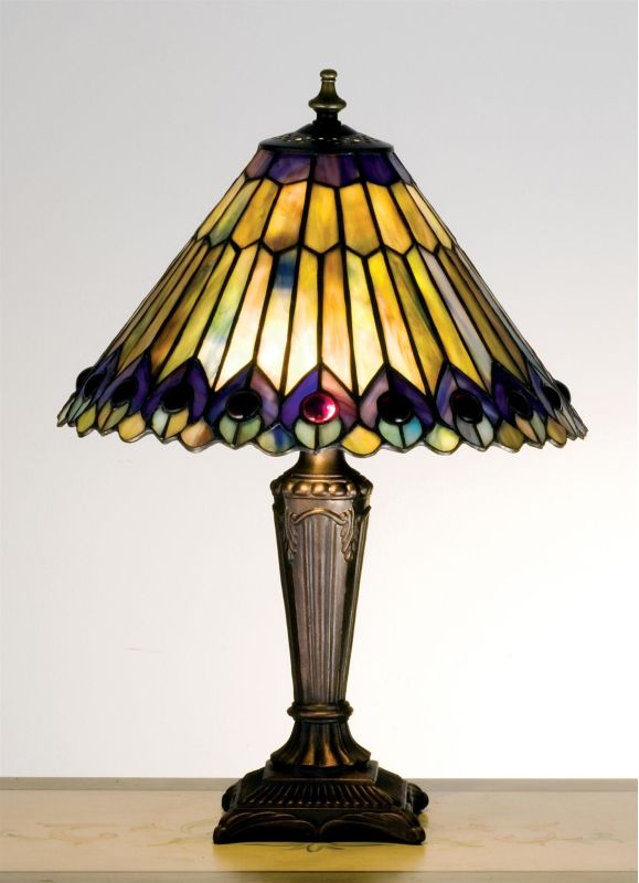 Meyda Tiffany 27564 Stained Glass / Tiffany Accent Table Lamp from the