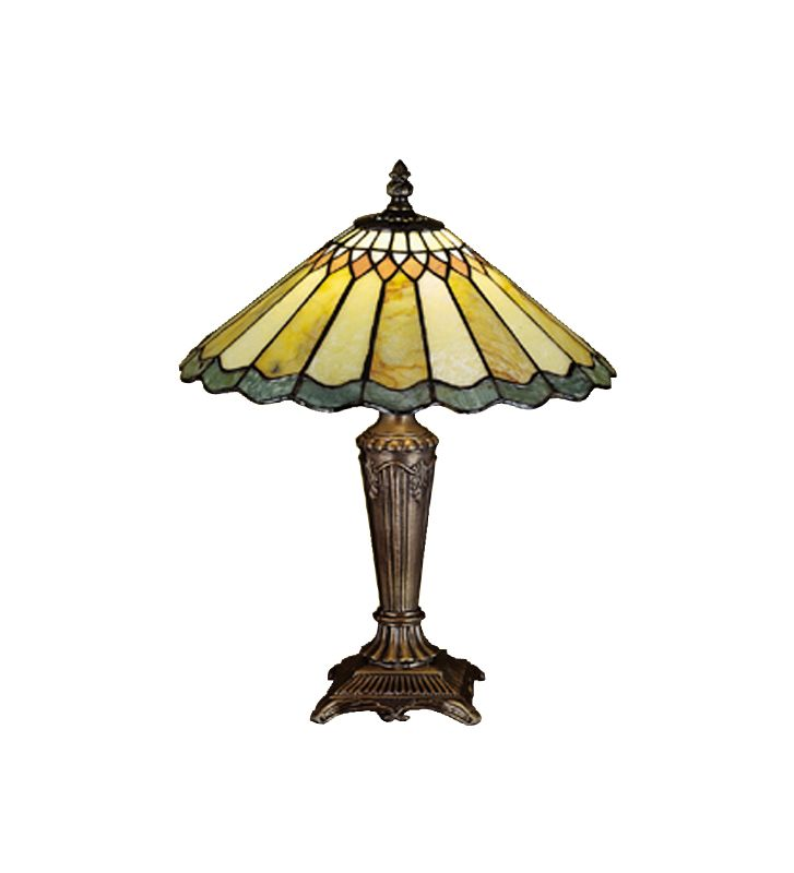 Meyda Tiffany 27569 Stained Glass / Tiffany Accent Table Lamp from the