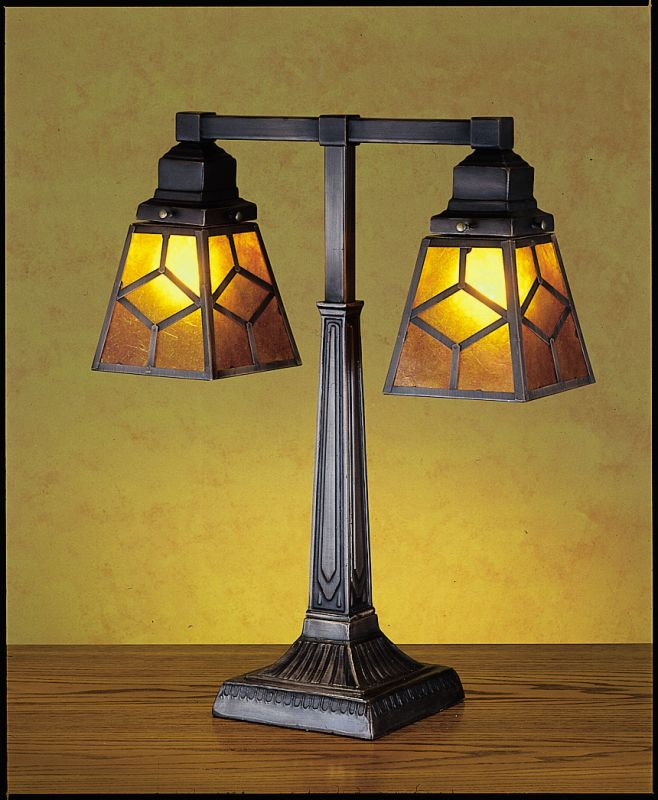 Meyda Tiffany 27879 Craftsman / Mission Table Lamp from the Mica