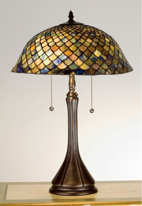 Meyda Tiffany 28369 Stained Glass / Tiffany Accent Table Lamp from the