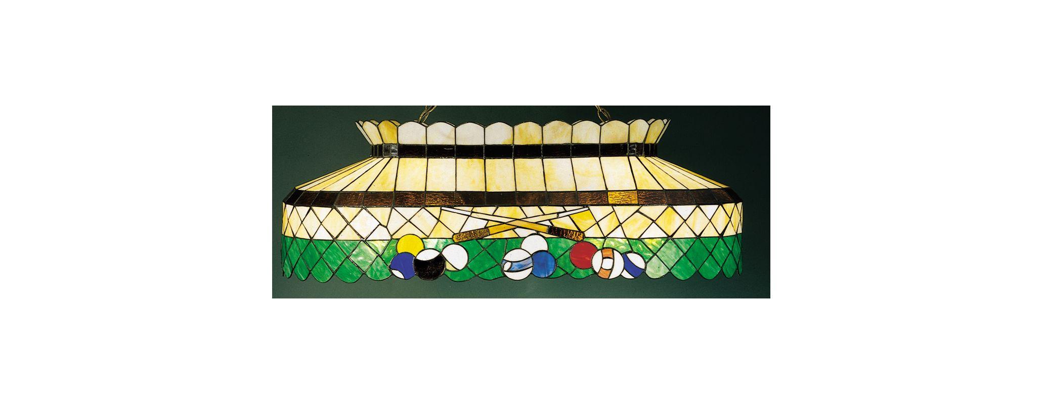 Meyda Tiffany 28499 Stained Glass / Tiffany Island / Billiard Fixture