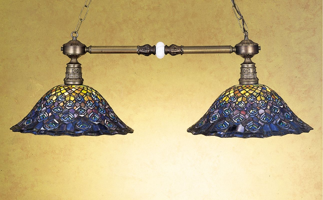 Meyda Tiffany 28503 Stained Glass / Tiffany Island / Billiard Fixture