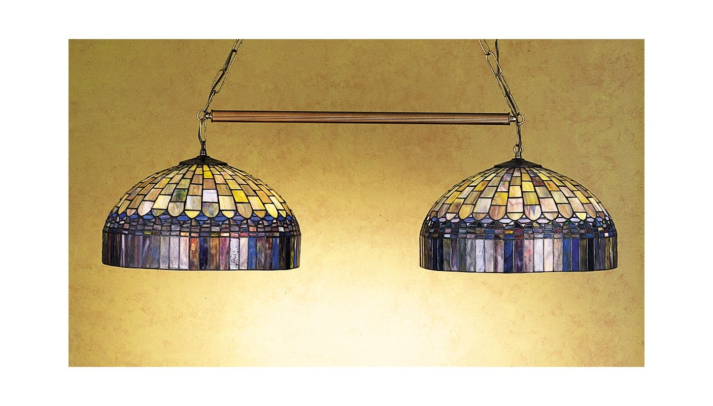 Meyda Tiffany 28515 Stained Glass / Tiffany Island / Billiard Fixture