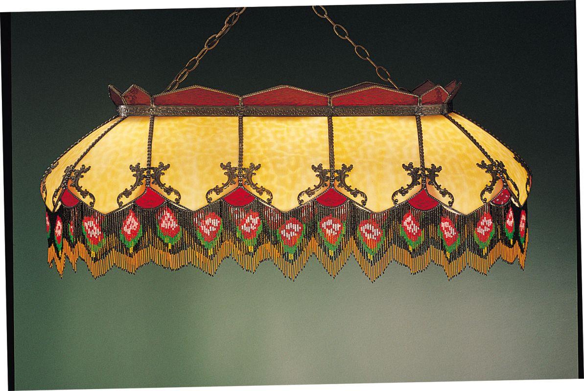 Meyda Tiffany 28523 Stained Glass / Tiffany Island / Billiard Fixture