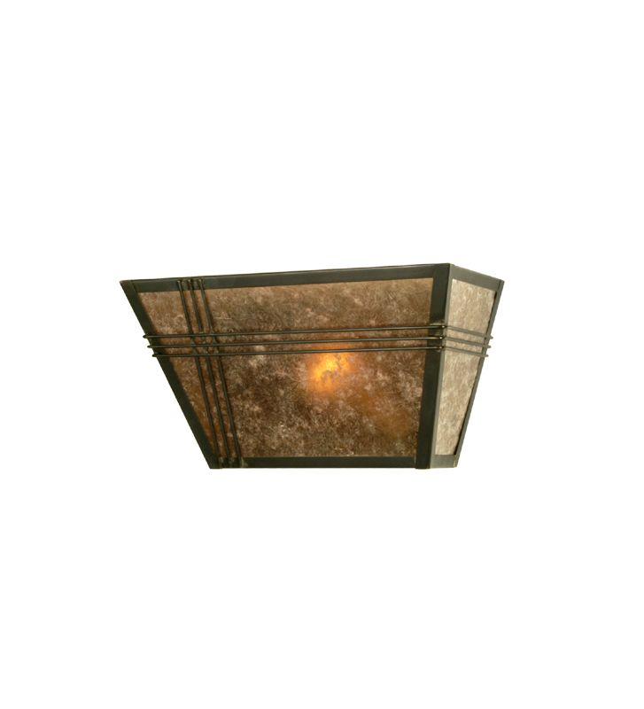 "Meyda Tiffany 28716 13"" Wide Single Light Wall Sconce Indoor"