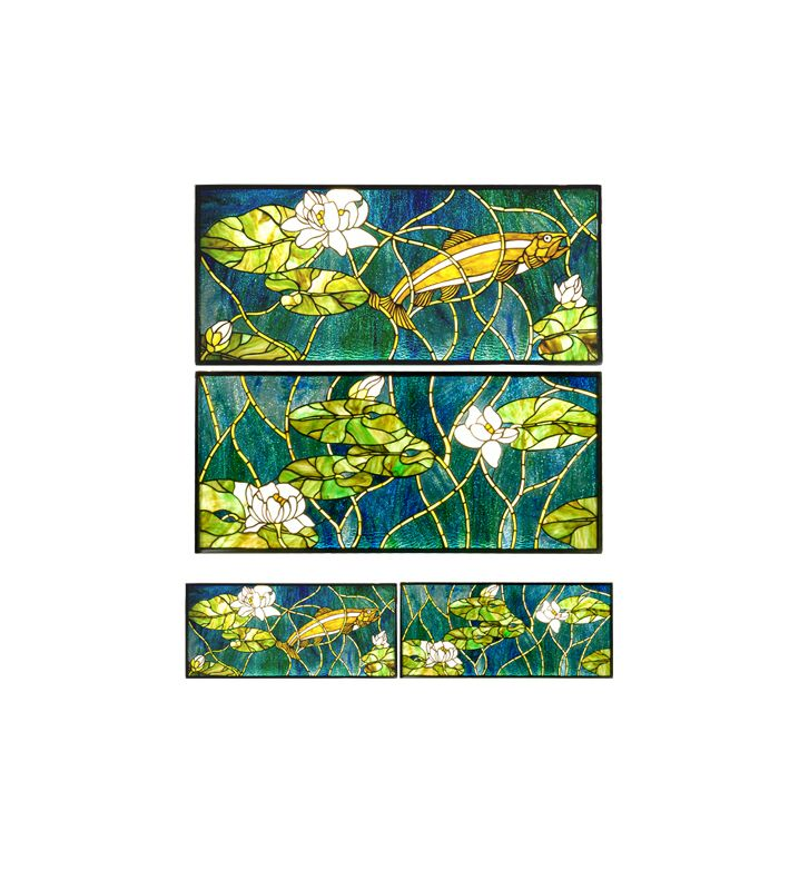 Meyda Tiffany 28718 Tiffany Single Glass Window Pane from the