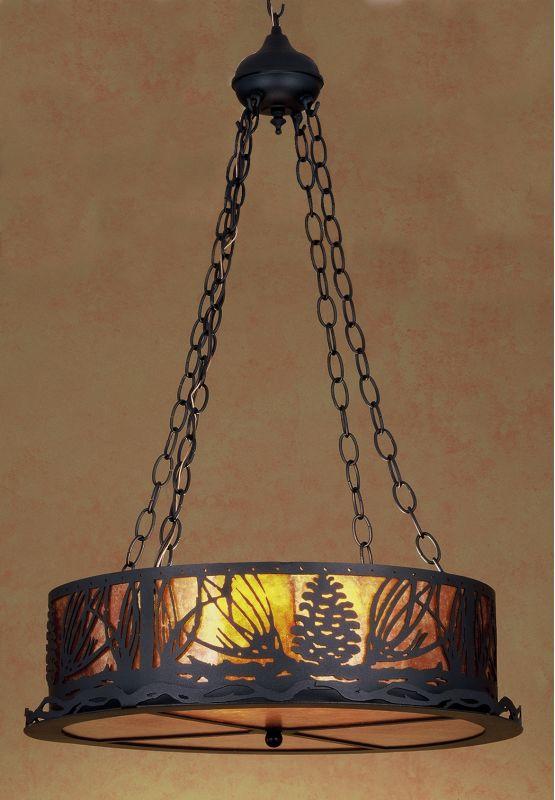 Meyda Tiffany 29268 Down Lighting Pendant from the Pine Cone